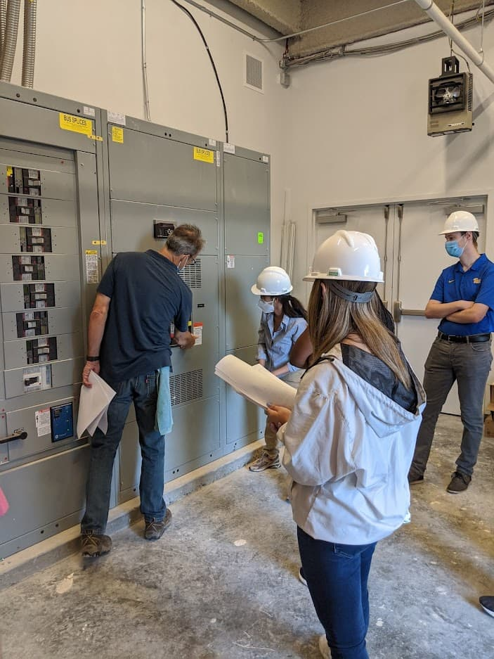 Co-op Students Participating in an Electrical Engineering Training Session